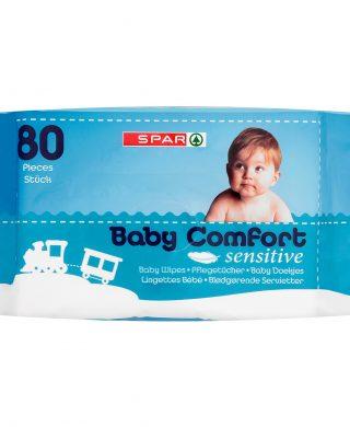 SPAR Baby Wipes 80 pcs