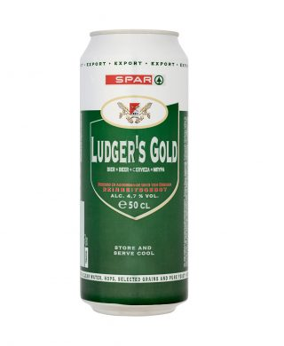 SPAR Beer Ludger's Gold 50cl