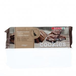 SPAR Brownie Cookies 200g