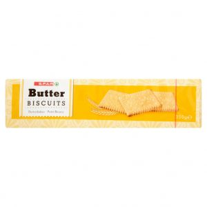 SPAR Butter Biscuits 250g