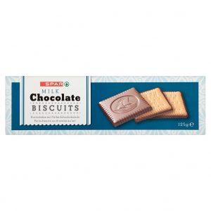 SPAR Chocolate Biscuits milk 125g