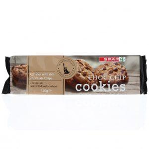 SPAR Chocolate Chip Cookies 40% 150g