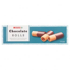 SPAR Chocolate Rolls milk 125g