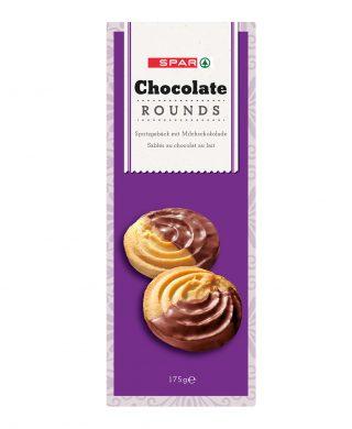SPAR Chocolate Rounds 175g