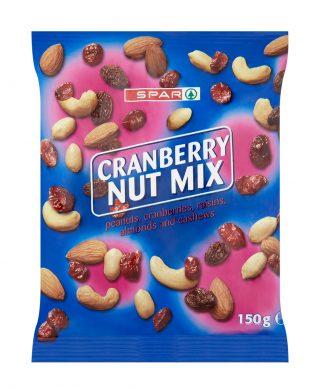 SPAR Cranberry Nut Mix 150g