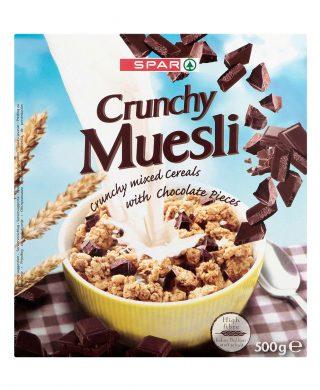 SPAR Crunch Chocolate (Muesli) 500g