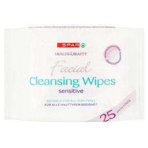 SPAR Facial Cleansing Wipes 25 pcs