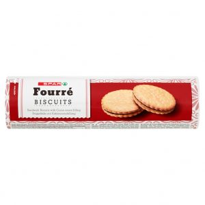 SPAR Fourre Biscuits Cacao 500g