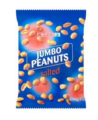 SPAR Jumbo Peanuts salted 250g