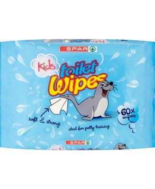 SPAR Kids Wipes 60 pcs