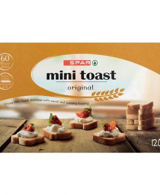 SPAR Mini Toast Original 120g