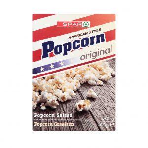 SPAR Popcorn Original 300g