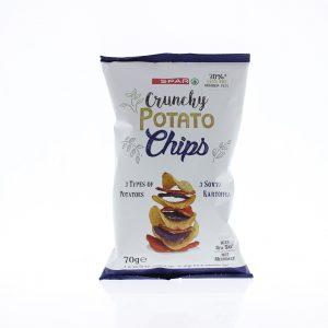 SPAR Potato Chips 3-mix 70g