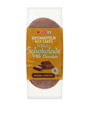 SPAR Rice Cakes Chocolate 100g