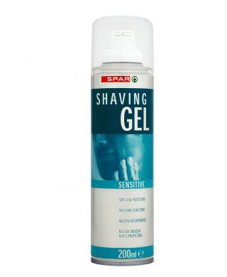 SPAR Shaving Gel 200ml