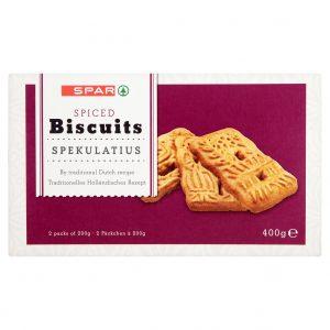 SPAR Spiced Biscuits 400g