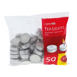 SPAR Tea Lights 50 pcs