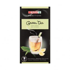 SPAR Tea Sticks Green Tea with Lemon 15x