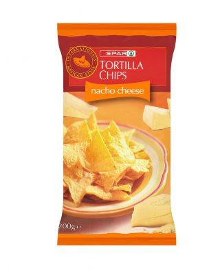 SPAR Tortilla Chips Nacho Cheese 200g