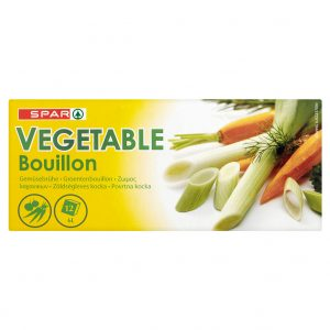 SPAR Vegetable Bouillon 120g