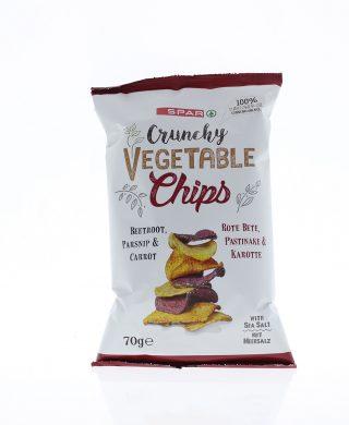 SPAR Vegetable Chips 3-mix 70g