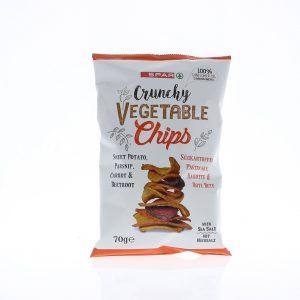 SPAR Vegetable Chips 4-mix 70g