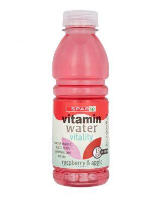 SPAR Vitamin Water Apple & Raspberry 500ml
