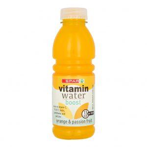 SPAR Vitamin Water Orange & Passionfruit 500ml