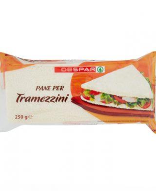 Pane per Tramezzini 250g – 16 pz per cartone
