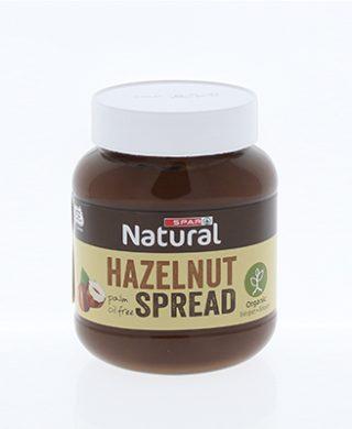 SPAR Natural Organic Hazelnut Spread 400g