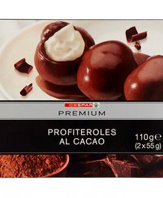 Profiteroles al cacao (2x55g) 110g – 8 pz per cartone